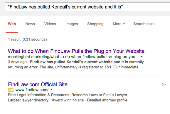 Findlaw canonical