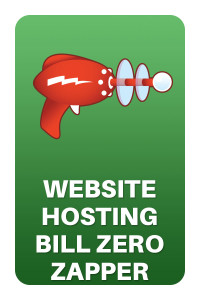 Website Hosting Bill Zero Zapper