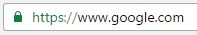 Why HTTPS? Well that's a stupid question.