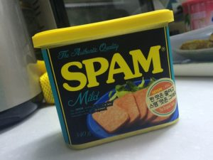 SPAM is for Eating, Not for the Internet